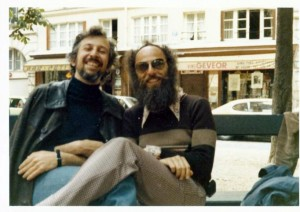 Jack Sarfatti and Fred Alan Wolf in Paris, 1974